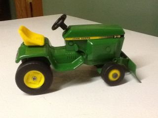 Ertl John Deere Lawn and Garden Tractor Restored and Decaled as A 318