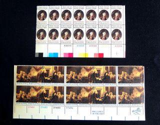 John Paul Jones 15 Cents 1789 and July 4 1776 Delegates 13 Cents 1691 1694