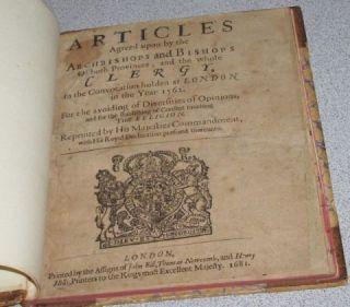 Very RARE 17th Century Book Antique Antiquarian 1600s