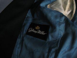 Vintage Mens disco jacket blazer  Johnny Miller label 1970s 40S
