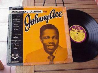 Johnny Ace Memorial Album Original Vinyl Lp Duke