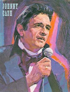 Johnny Cash 1974 Tour Concert Program Book