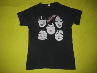 Original New York Dolls 70s Vtg T Shirt Johnny Thunders