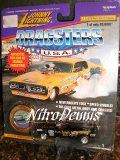 NHRA Jim Liberman 1 64 Diecast Nitro Funny Car Jungle Pam Johnny Lightning
