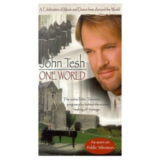 John Tesh ONE WORLD video Celebration Music Dance World NEW VHS mint PBS special