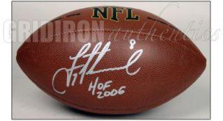 Troy Aikman Dallas Cowboys Autographed Wilson Football w HOF 2006 Inscription