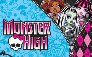 Monster High Halloween Mini Note Pads Birthday Party Favor New