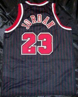 Michael Jordan Signed Autographed Basketball Jersey GAI