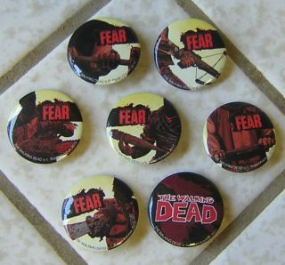 The Walking Dead Comic Series Pins NEW ZOMBIES LOOK