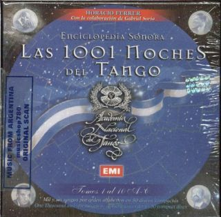 Las 1001 Noches Del Tango Tomos 1 10 SEALED 10 CD Set