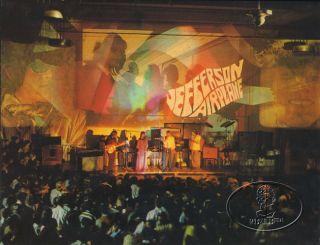 Jefferson Airplane 1967 Tour Concert Program Book Grace Slick Jorma Kaukonen