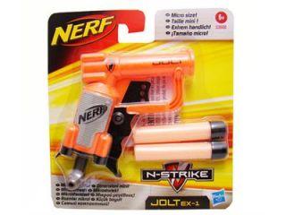 Brand New Nerf N Strike Jolt EX 1 Stealth Blaster 2 Whistler Darts New Arrival
