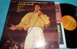 Jose Jose La Nave Del Olvido 1970 RCA Stereo Vinyl