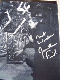 Jonathan Frid Hand Signed Dark Shadows 8x10