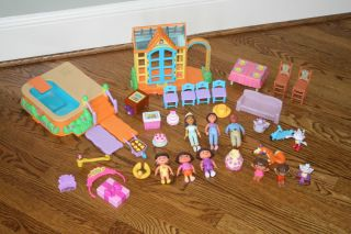 Dora Dollhouse Abuela Furniture Greenhouse Pool Boots Tico Swiper HUGE Lot
