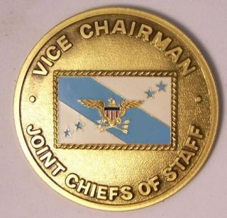 VICE CHAIRMAN JOINT CHIEFS OF STAFF Challenge Coin GEN JOSEPH W RALSTON