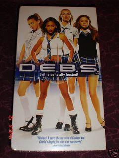 D E B s Stars Sara Foster Jordana Brewster Meagan Good Devon Akoi Retired VHS
