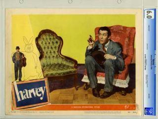 HARVEY Universal 1950 Lobby Card 7 CGC FN 6 0 JAMES STEWART