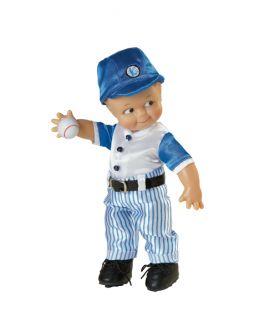 BATTER UP Baseball KEWPIE Pitcher 8 inch Vinyl Boy Doll Rose ONeill NEW