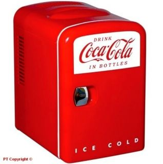 New Coke Coca Cola Small Mini Fridge Refrigerator Boat Home Office Personal KWC4