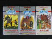 Lot of 13 Hanna Barbera Religious Storys from The Bible VHS Tapes Beautiful Cond