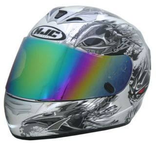 HJC Helmet Shield Visor HJ09 Iridium Rainbow Tinted Joe Rocket Prime CS R1 CS R2
