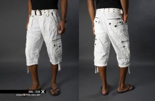 X Ray Mens Cargo Capri Shorts XMS 1038