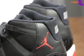 Nike Air Jordan 11 Retro XI Bred 2012 378037 010 Space Jam Concord Size 13