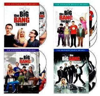 The Big Bang Theory Series DVD Box Set Seasons 1 4 1 2 3 4 New SEALED