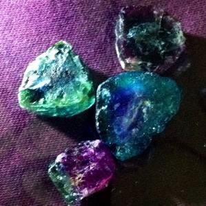Real Paraiba Tourmaline 59 Carats San Jose de Batalha Natural Unheated Crystals