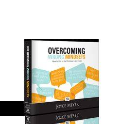 Joyce Meyer OVERCOMING WRONG MINDSETS How Get to Promised Land Faster 4 CDs