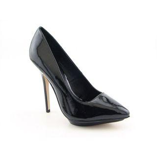 JS by Jessica Racer Stilettos Shoes Black Womens