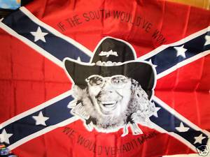 Confederate Flag with Hank Williams Jr