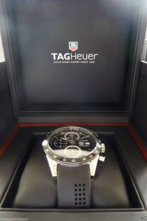 Tag Heuer Carrera automatic Juan Manuel Fangio rubber NEW chronograph