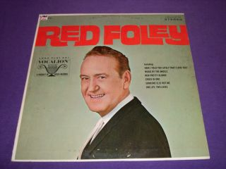 Red Foley Rare 12 Vinyl LP Vocalion 73751 Judy Martin Cumberland Valley Boys