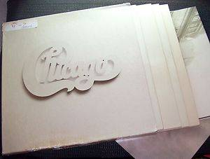 Chicago at Carnegie Hall '71 4LP w 3 Posters Book in Box Col C4X 30865 EX