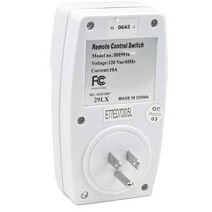 3 Pack Wireless Remote Control AC Power Outlet Switch