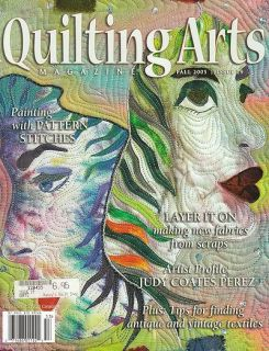 Quilting Arts Magazine Issue 19 Fall 2005 Stitch Paint