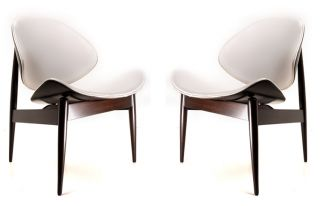Century Modern Kodawood Rosewood Clamshell Chairs by Finn Juhl