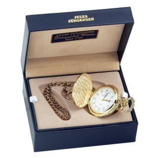New Jules Jurgensen 7382LC Coast Guard Pocket Watch