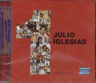 Julio Iglesias 1 Volumen 2 SEALED CD One Greatest Hits Best One
