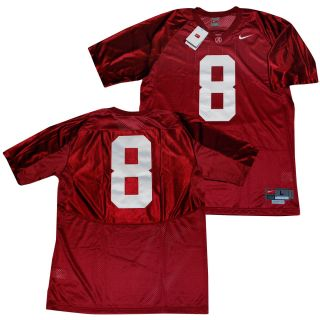 Alabama Crimson Tide 8 Julio Jones Sewn Youth Jersey M