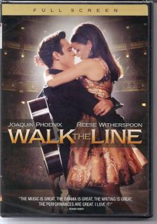 Walk The Line DVD Love Story Johnny Cash June Carter Cash New