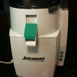 Juiceman Professional Series 410 Electronic Pro Juicer EUC