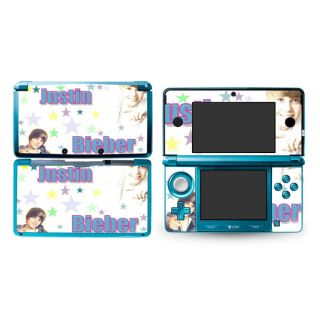 Justin Bieber Decal Skin Sticker P23 Cover for Nintendo 3DS N3DS