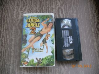 the Jungle 2 VHS, 2003 Clam Shell Case Julie Benz, Thomas Haden Church