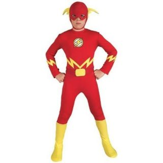 Justice League The Flash Child Boys Halloween Costume Small
