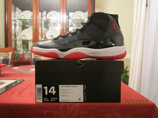 Nike Air Jordan Retro XI 11 Playoff Bred 2012 Mens Size 14 DS