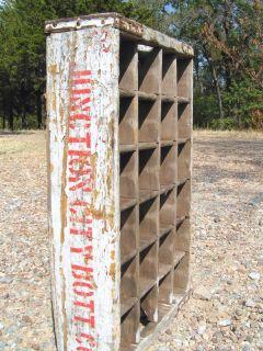 Old Wooden Coca Cola Coke Junction City Bottle Co Soda Crate