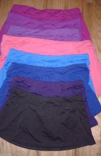 Lands End 2 4 8 10 12 14 16 18 Blue Berry Pink Rose Swim Mini Skort